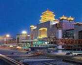 China, Beijing, railway station