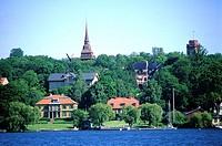 Sweden, Stockholm, Djurgõrden island
