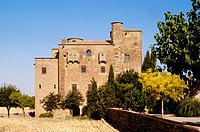 Castle Mol&#237; de la Ratera, L'Arany&#243;, La Segarra, LLeida, Catalunya, Spain