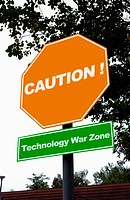 Caution! Technology war zone