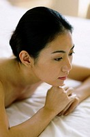Calm looking woman (thumbnail)