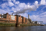 Industry-along-Beaver-Slough/nClinton,-Iowa-(MR)