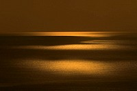 North Pacific Ocean at Sunset, Honshu, Japan