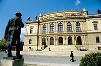 Music hall Rudolfinum. Prague. Czech Republic