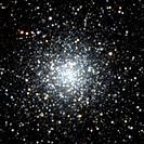 Globular star cluster M9.