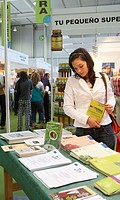Bioterra, fair of organic products, ecological management and the environment, FICOBA, Basque Coast International Fair. Irun, Gipuzkoa, Basque Country...