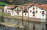 Sumbilla village, Navarre, Spain