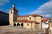Baraibar church, Navarre, Spain