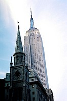 The Empire State Building, New York City, New York