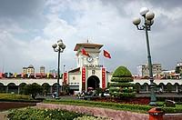 Cho Ben Thanh market, Ho Chi Minh City, Vietnam