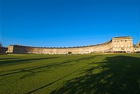 England, Somerset, Bath, Royal Crescent