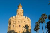 Torre del Oro, Sevilla. Andalucia. Spain.