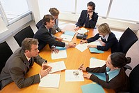 Group of businesspeople collaborating
