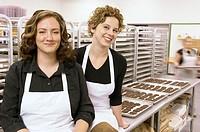 Two women side by side