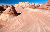 Coyote Buttes, Paria Canyon Vermilion Cliffs Wilderness. Arizona, USA