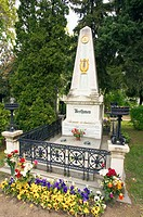 Ludwig Van Beethoven Grave, Vienna, Austria