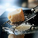 Parmesan on grater