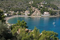 Repic beach. Port de Sóller. Majorca. Balearic Islands. Spain