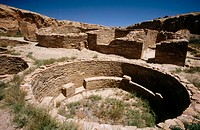 Chaco Culture NHP. New Mexico. USA