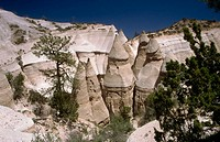 Kasha-Katuwe Tent Rocks Monument. New Mexico. USA