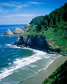 Heceta Head Lighthouse. Oregon. USA