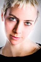 Young model female headshot