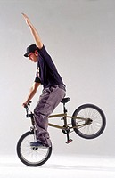 Fernando Bayona, Freestyle BMX Spanish champion