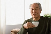 Man with a teacup (thumbnail)