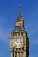 England, London, City of Westminster, Big Ben, close-up