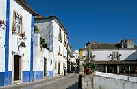 Old town, Óbidos. Portugal