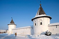 Cathedral of the Archangel Michael. Monastery of Archangel Michael founded in the 13th century, Yuriev Polskoy. Golden Ring, Russia