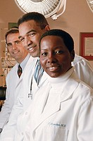 Medical professionals, portrait