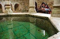 Arabic baths. Girona. Catalonia. Spain
