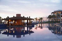 Resort hotel pool, Los Cabos, Mexico