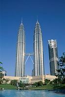Petronas Towers (KLCC Twin Towers), Kuala Lumpur, Malaysia