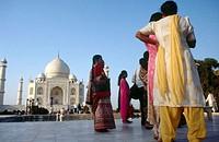 Taj Mahal, Agra. Uttar Pradesh, India