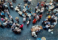 La Pescheria (fish market). Catania. Sicily. Italy