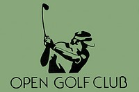logo of open golf club