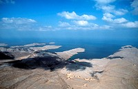 Sultanate of Oman The North Musandam Peninsula abutting on the Strait of Hormuz, one of the world´s most important shipping lanes. 80 kms across from ...