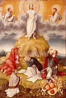 fine arts, painting, ´Transfiguration´, attributed to Ulrich Apt 1486 - 1532, 16th century, state museum, Kassel, Germany, religion, christianity, Eur...