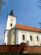 The church in Svatoborice-Mistrin
