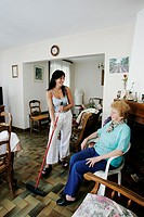 SOCIAL AID FOR ELDERLY PERSON<BR>Photo essay.