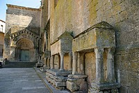 Vallbona de les Monges monastery (13th-14th century), Urgell. Cistercian route, Lleida province, Catalonia, Spain
