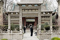 The great mosque serves over 60,000 Chinese muslims in the Xi´an area. Founded in 742 AD during the Tang dynasty, the mosque was the religious center ...