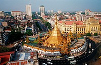 Sule-Pagode in Yangon, Burma
