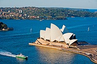 Opera House. Sydney City. New South Wales. Australia. April 2006