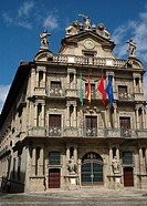 Town Hall. Pamplona. Spain