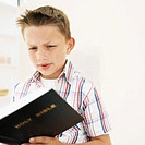 Boy (8-9) the bible