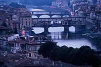 Ponte Vecchio, Florence. Tuscany, Italy