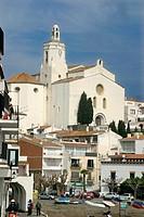 Church of Santa Maria. Cadaqués. Costa Brava. Alt Empordà. Girona province. Catalonia. Spain